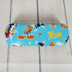 Tom & Jerry Clamshell Glasses Case Kids Blue